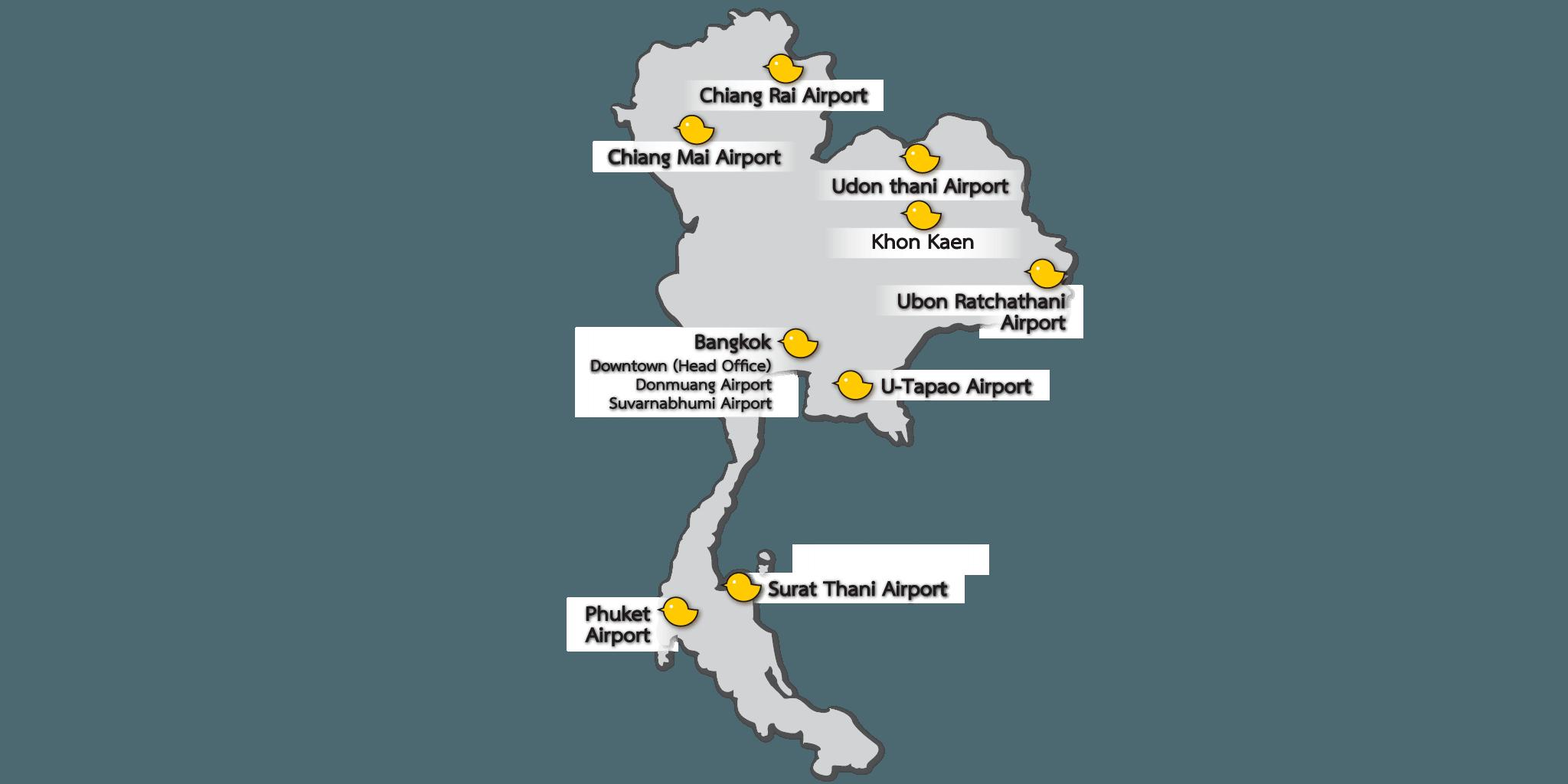 Chic Car Rental Locations Thailand