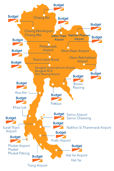 Budget depots Thailand